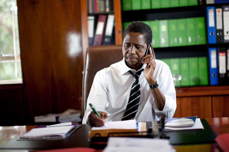 Edgar Lungu, Zambia's president
